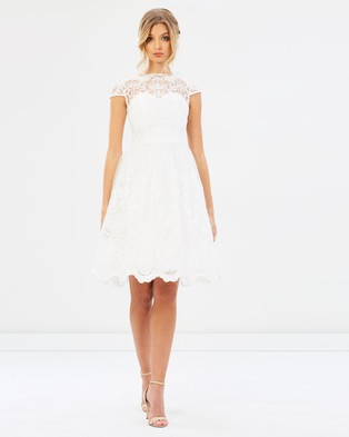 Chi Chi London – Aerin Dress – Bridesmaid Dresses White