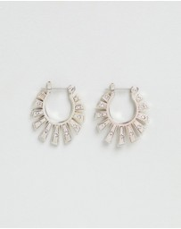 Luv Aj - The Whimsy Flare Mini Hoops