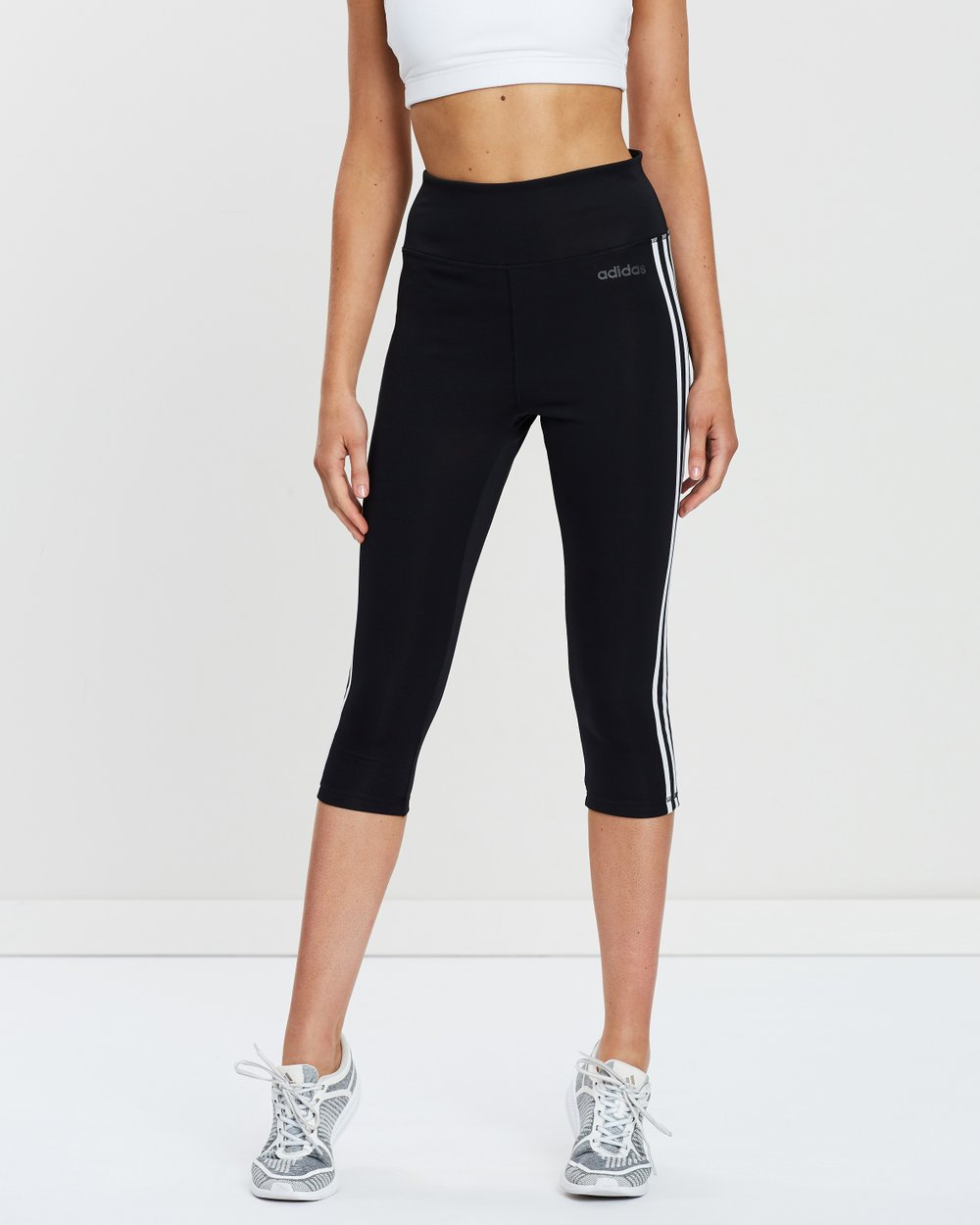 09693fc374c01 Design 2 Move 3-Stripes 3/4 Tights by adidas Performance Online | THE  ICONIC | Australia