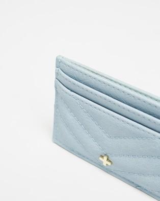 PETA AND JAIN Izzy Credit Card Wallet - Wallets (Pastel Blue)