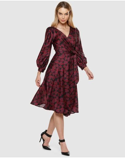 a180eb1fabc6e Wrap Dresses