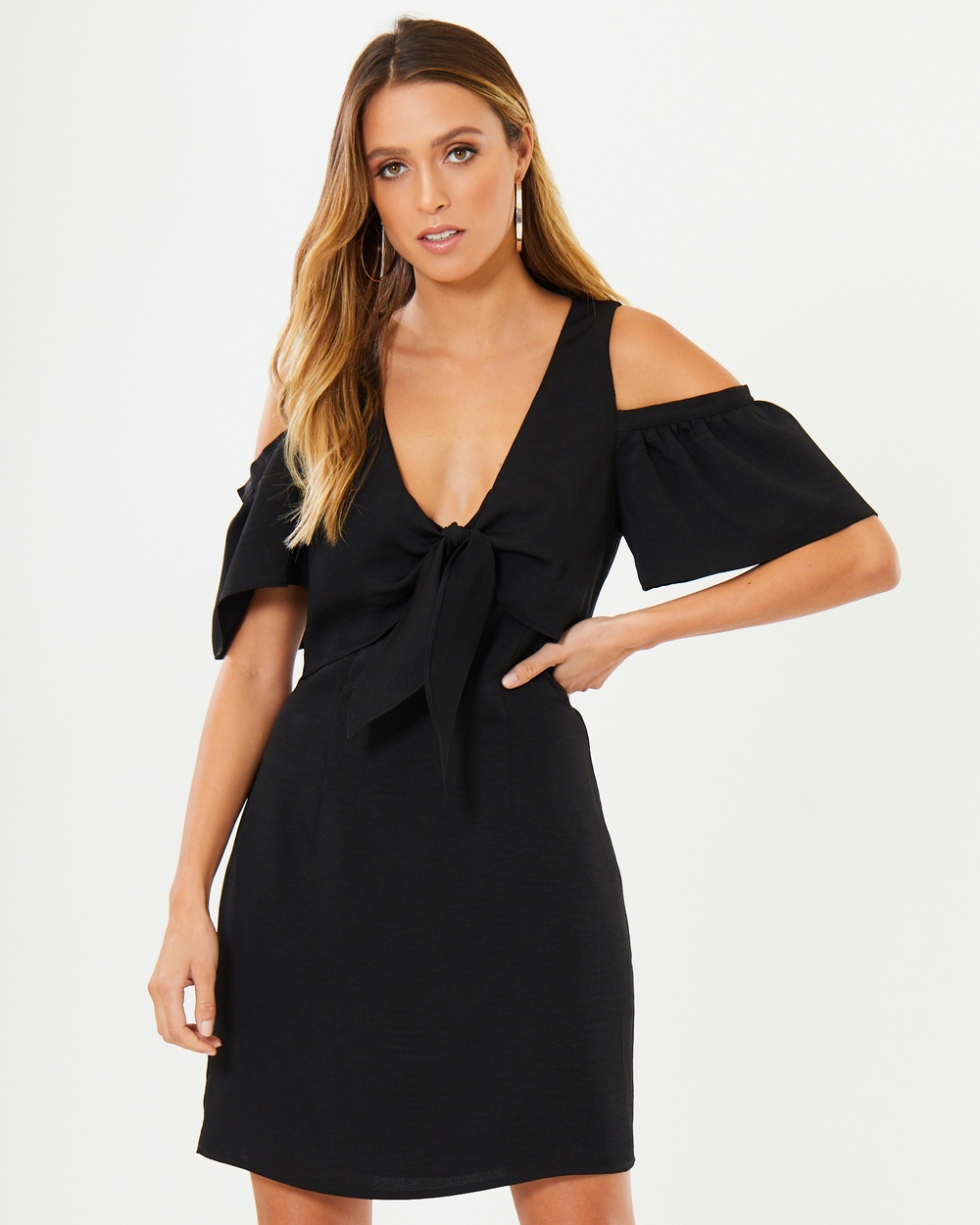 Photo of Tussah Black Corby Mini Dress - beautiful dress from Tussah online