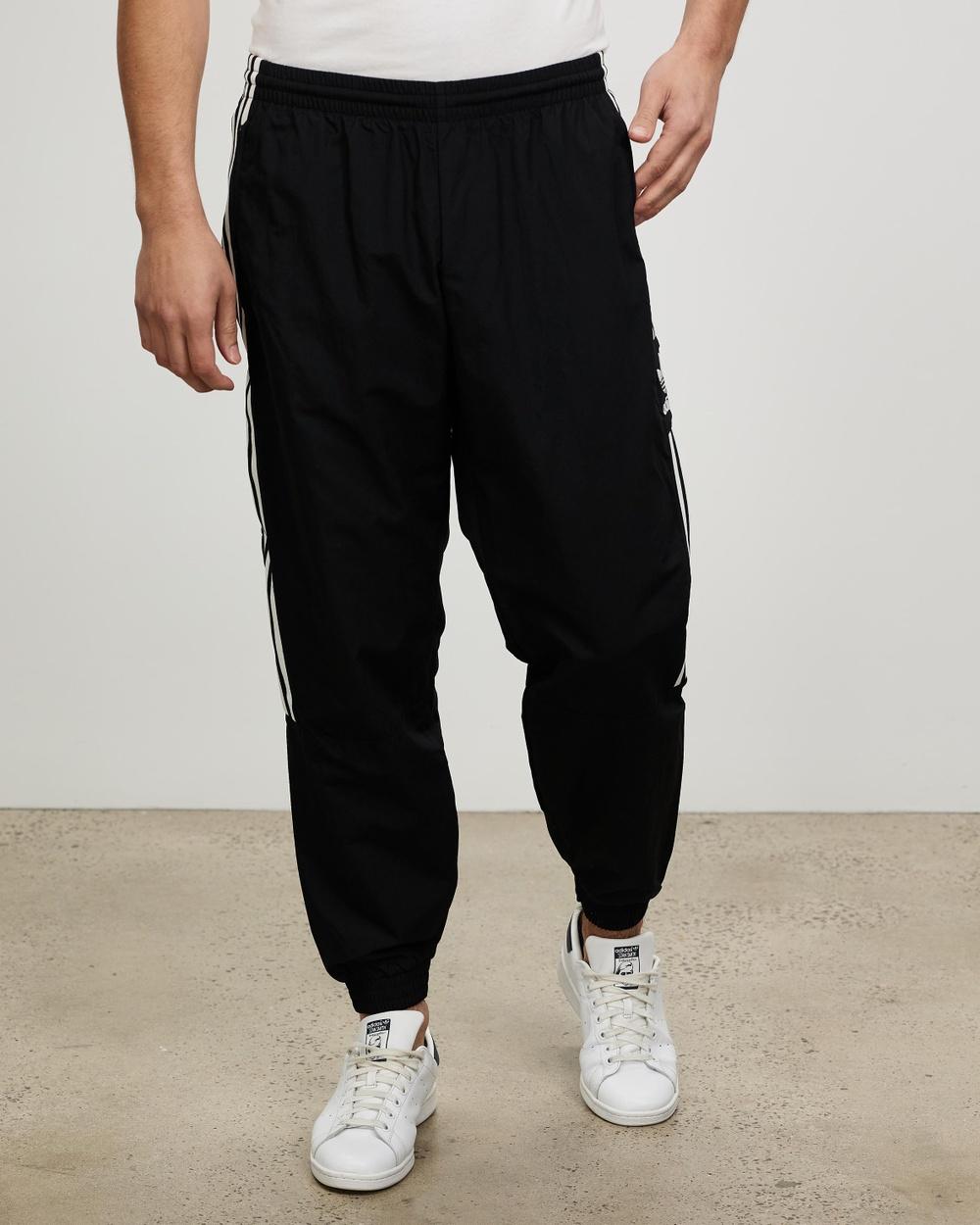 adidas Originals Adicolour Classics Lock Up Trefoil Track Pants Black Lock-Up