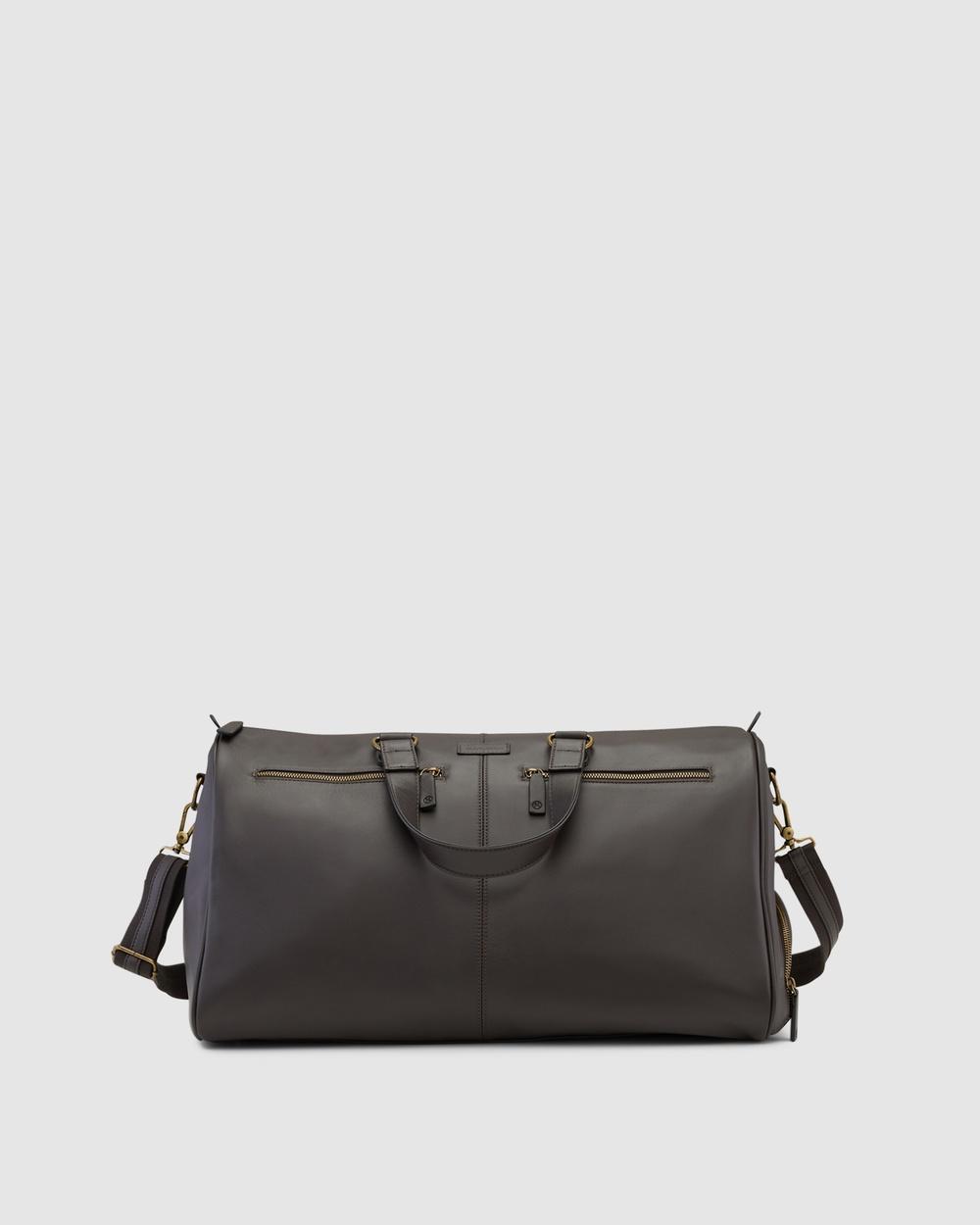 Kinnon Oxley Overnight Bag Bags Chocolate