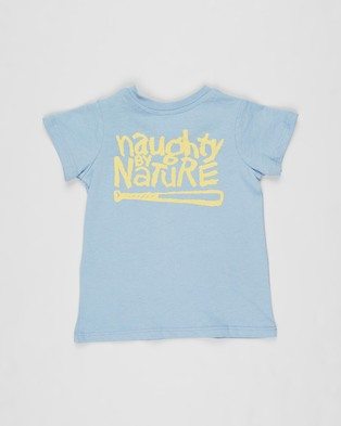 Cotton On Baby - Jamie Short Sleeve Tee   Babies - Clothing (Licence Dusty Blue Naughty By Nature) Jamie Short Sleeve Tee - Babies