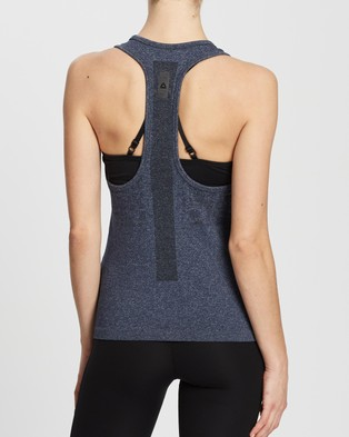Reebok Performance United By Fitness MYOKnit Tank - Muscle Tops (Vector Navy)