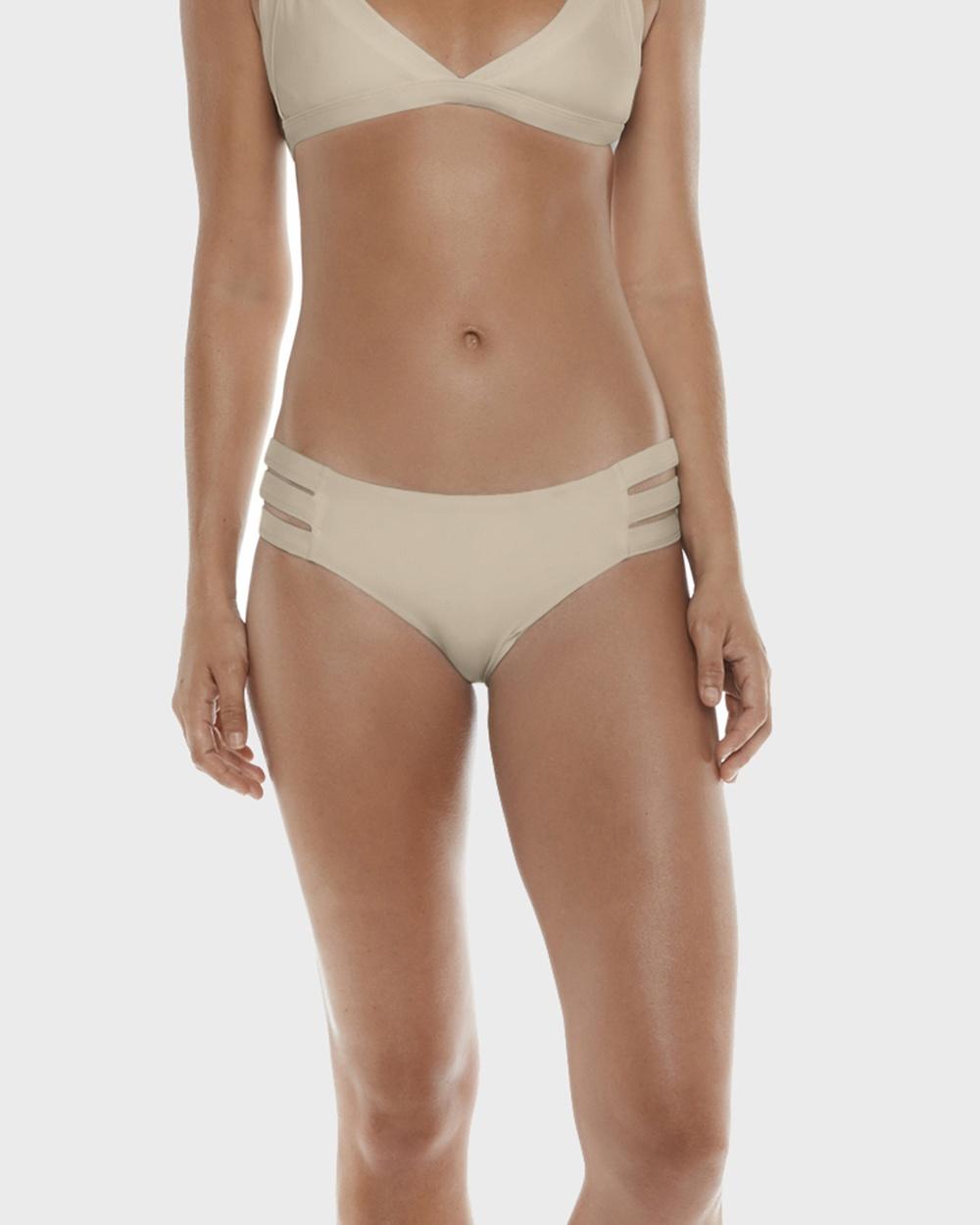 Allerton Banded Boyleg Briefs Bikini Bottoms Nude Banded Boyleg Briefs