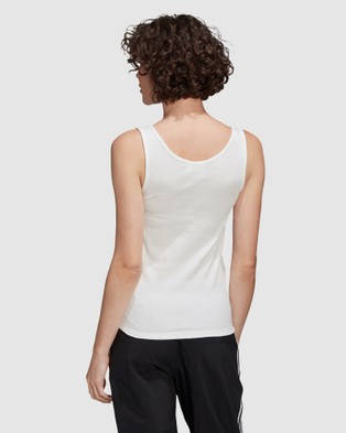 adidas Originals - Tank Top - Long Sleeve T-Shirts (White) Tank Top