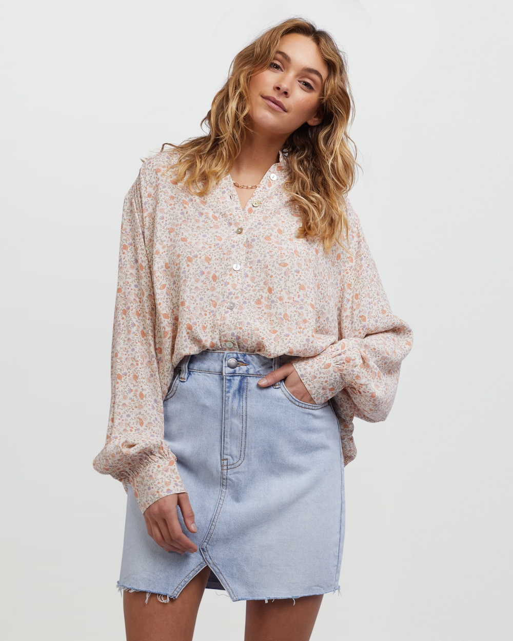 All About Eve Ivy Shirt Tops Multicoloured