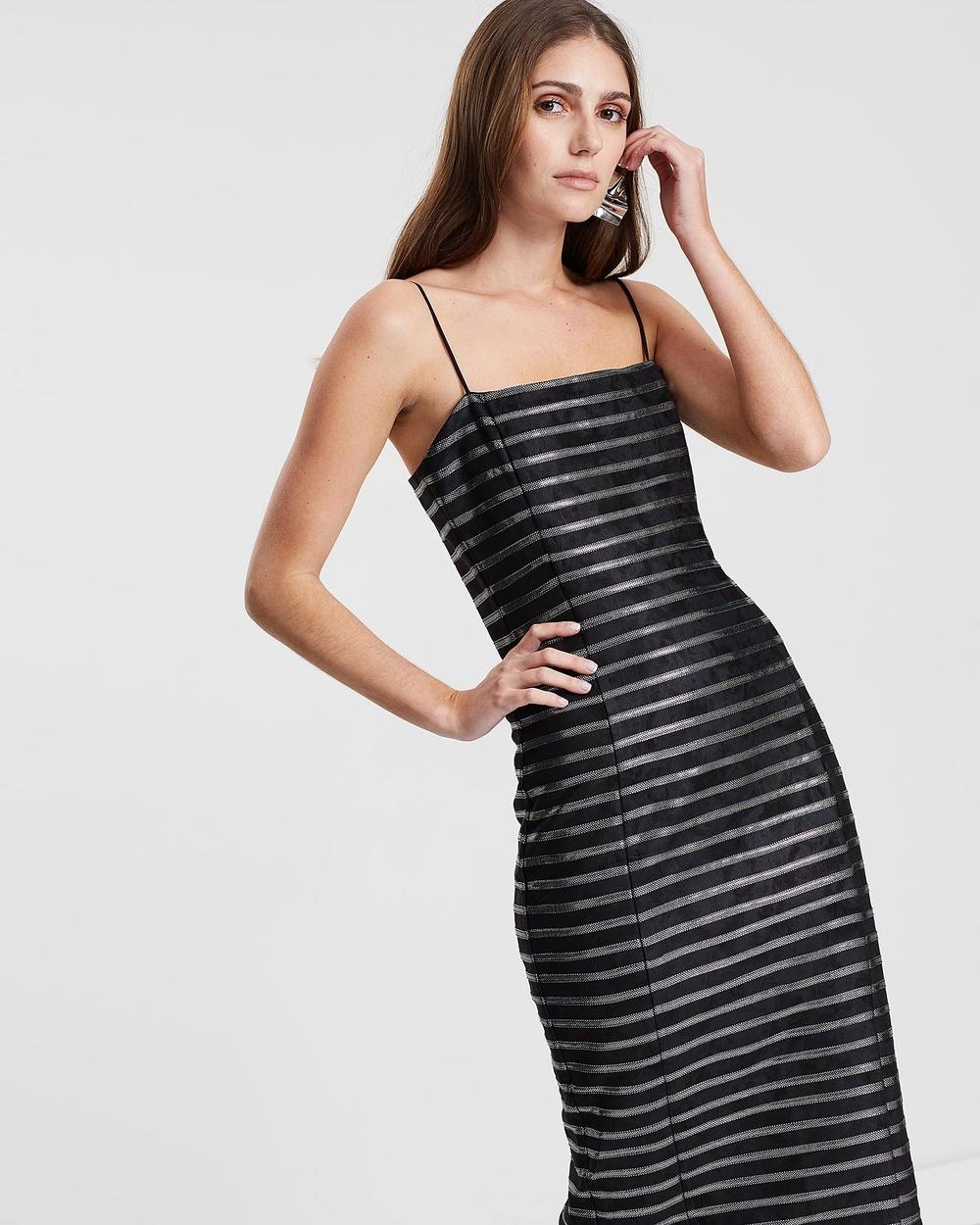 Eliya The Label Black Amalie Dress