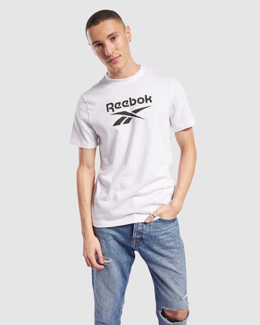 Reebok Classics - Classics Vector Tee - Long Sleeve T-Shirts (White) Classics Vector Tee