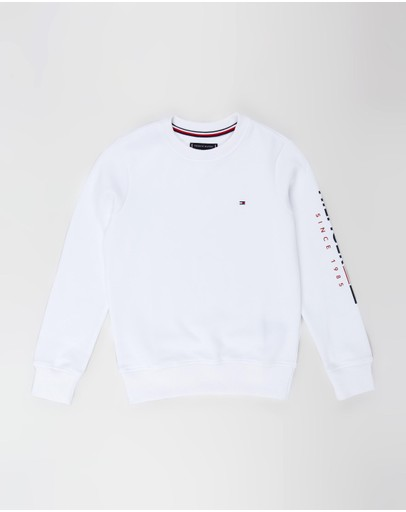 Tommy Hilfiger - Flag Crew Neck Sweatshirt - Teens