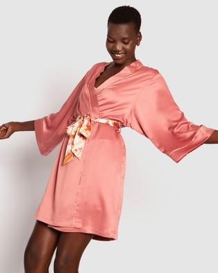 Bras N Things Tuscan Nights Wrap - Sleepwear (Rust)