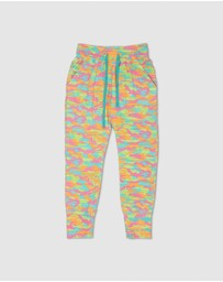 Gelati Jeans - Babe Watch Bright Camo Track Pants
