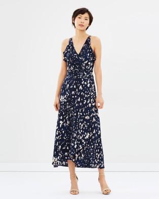 SABA – Panther Maxi Dress multi