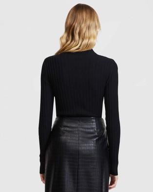 ARIS Turtleneck Sweater - Tops (Black)
