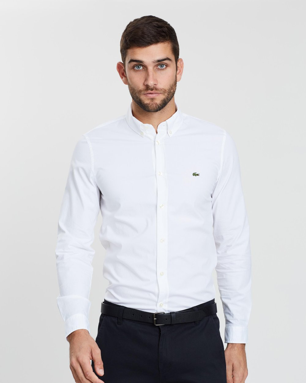 0be3a01cbe Slim Fit Stretch Poplin Shirt