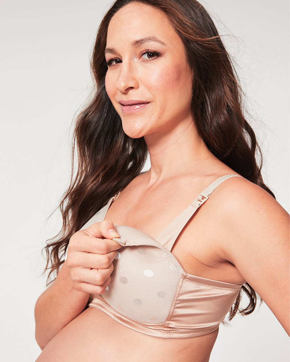 3f28b5f07e Mousse Padded Plunge Contour Non Wire Maternity   Nursing T-Shirt Bra by Cake  Maternity Online