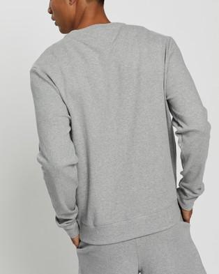 Tommy Hilfiger Logo Sweatshirt - Sweats (Grey Heather)