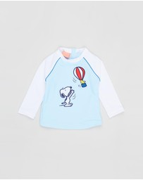 Sunuva - Snoopy Long Sleeve Rash Vest - Babies