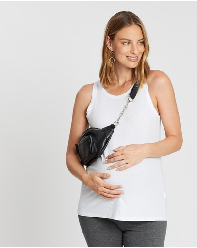 Cotton On Maternity Everyday Girlfriend Tank White