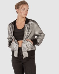 The Rushing Hour - Afterglow Reversible Bomber Jacket