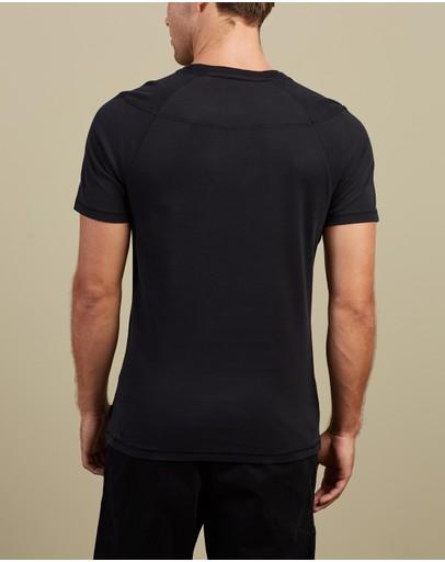 Christopher Raeburn Parachute Graphic T-shirt C000 Black
