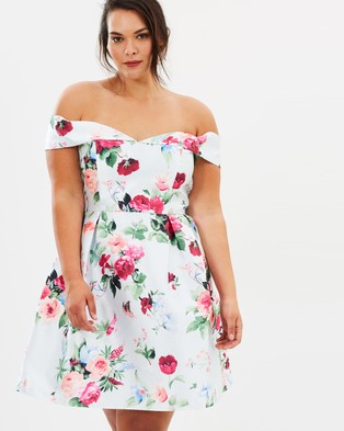 Chi Chi Curve – Christa Dress – Dresses (Floral)