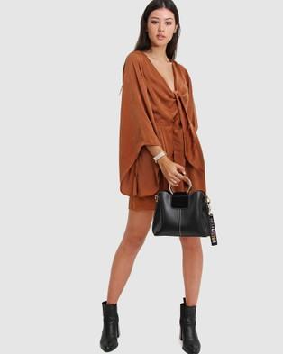 Belle & Bloom - Twilight Leather Cross Body Bag - Bags (Black) Twilight Leather Cross-Body Bag