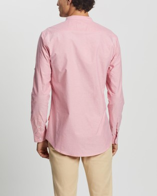 Justin Cassin Graham Shirt - Casual shirts (Pink)