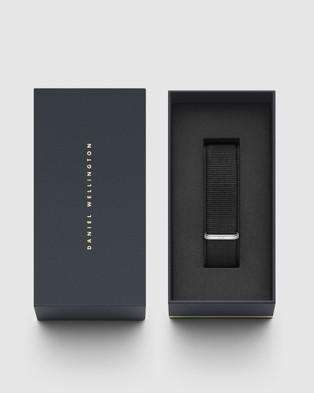 Daniel Wellington - Nato Strap Cornwall 20mm Watch Band   For Classic 40mm - Watches (Silver) Nato Strap Cornwall 20mm Watch Band - For Classic 40mm