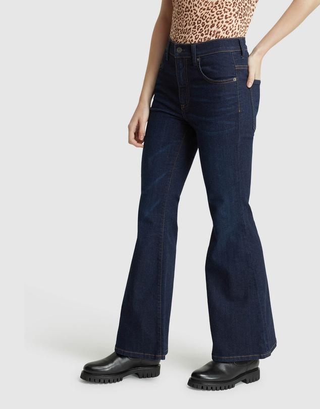 Women Zoe Flare Jeans