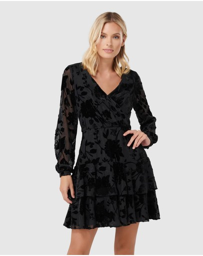 Forever New - Sabrina Velvet Sparkle Dress