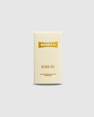 BURLY Beard Oil - Beard (Yellow)