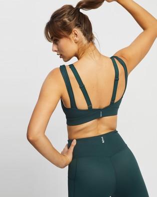 Lilybod Amber Sports Bra - Crop Tops (Smoke Green)
