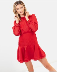 Cooper St - Hepburn Long Sleeve Mini Dress