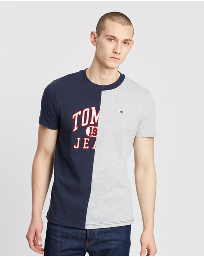 Tommy Jeans - Colourblock Logo Tee