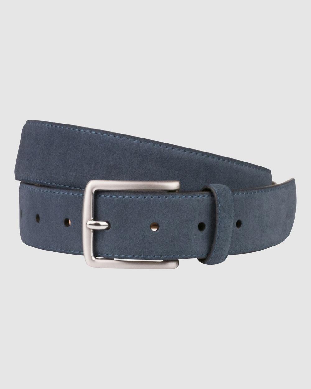 Florsheim Willis Belt Belts Blue