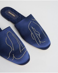 Mara & Mine - ICONIC EXCLUSIVE - The Line Slippers