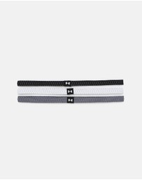 Under Armour - Reflective Mini Headbands - 3 Pack