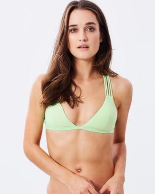 Bond-Eye Swimwear – Sweet Fix Bralette Apple Sorbet