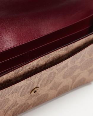 Coach Soft Wallet - Wallets (Tan & Rust)