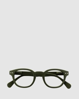 IZIPIZI Reading Collection C - Optical (Green)