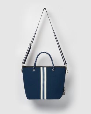 Miz Casa and Co Beverly Neoprene Mini Tote Bag - Bags (Navy)