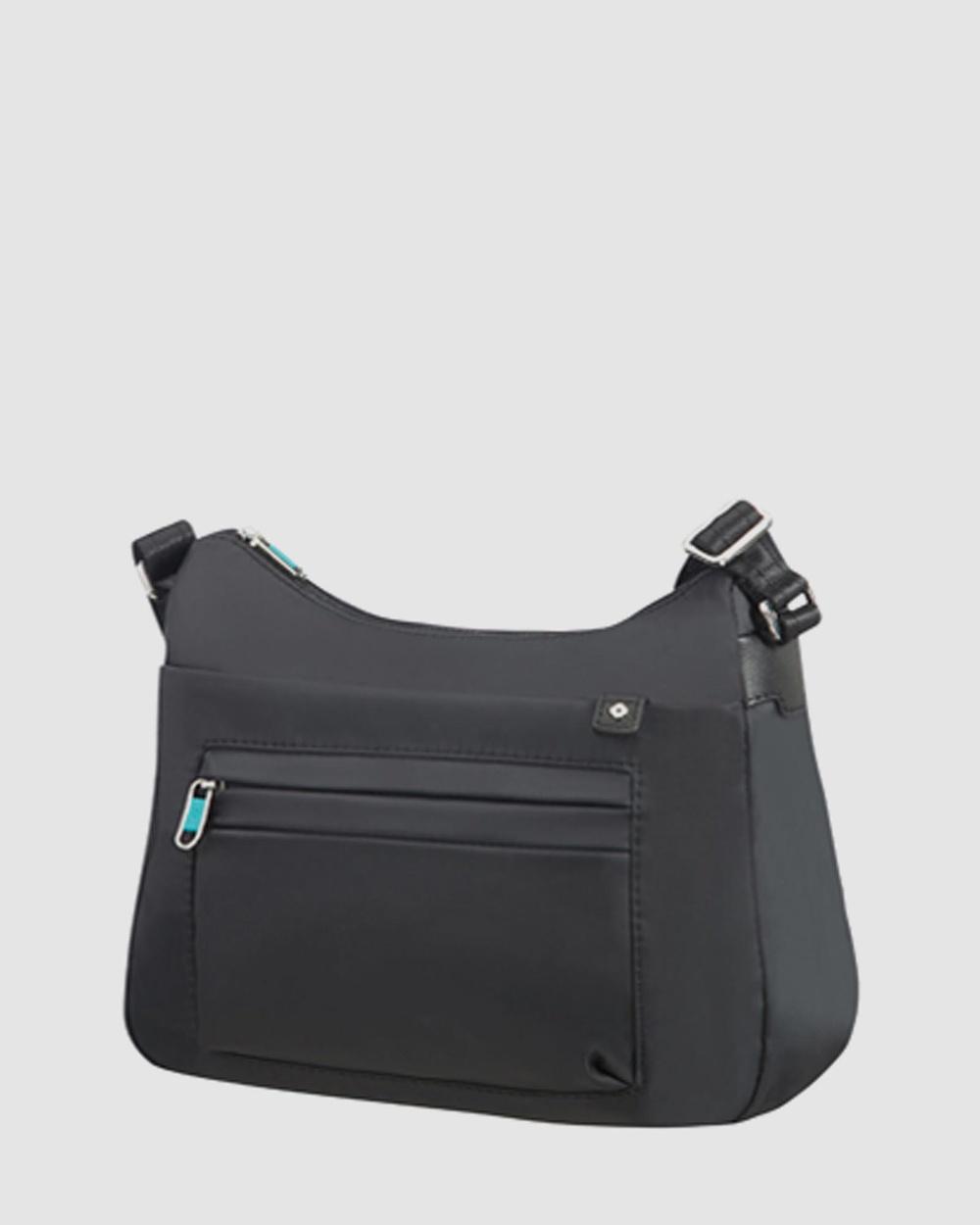 Samsonite Move 2.0 Secure Medium Shoulder Bag Handbags Black Handbags Australia