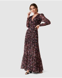 Forever New - Agnes Ruched Wrap Maxi Dress