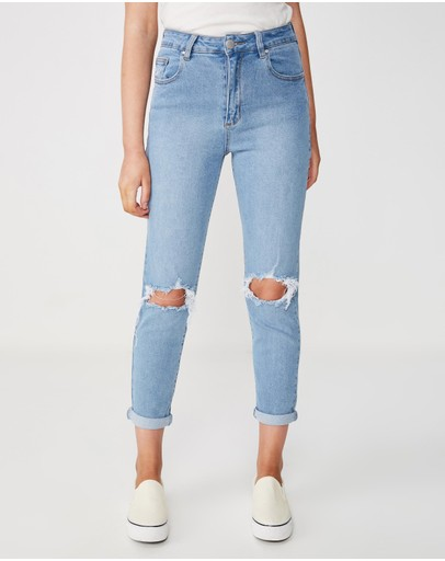 Cotton On - Stretch Mom Jeans