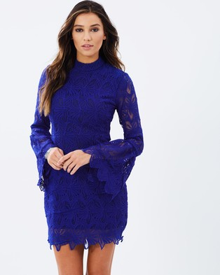 Mossman – Rendezvous In Toledo Dress – Dresses (Cobalt)