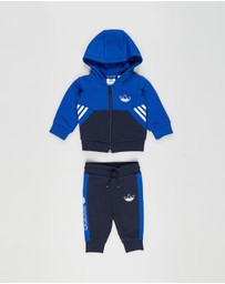 adidas Originals - SPRT Collection Full-Zip Hoodie Set - Babies