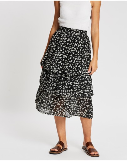 Atmos&Here - Melody Layered Skirt